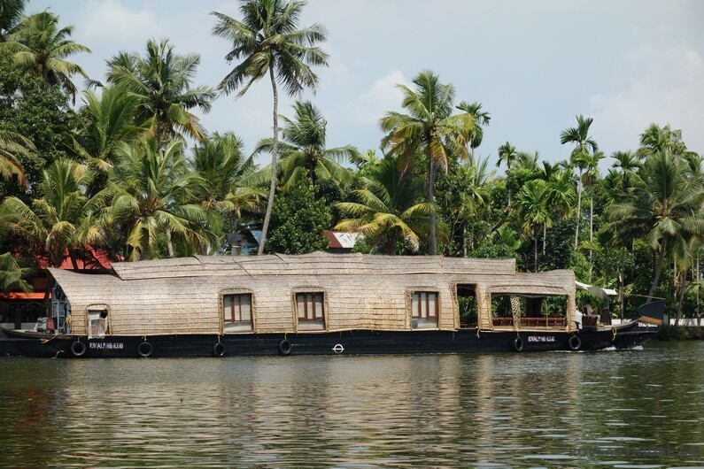 Indie Houseboaty v Alleppey