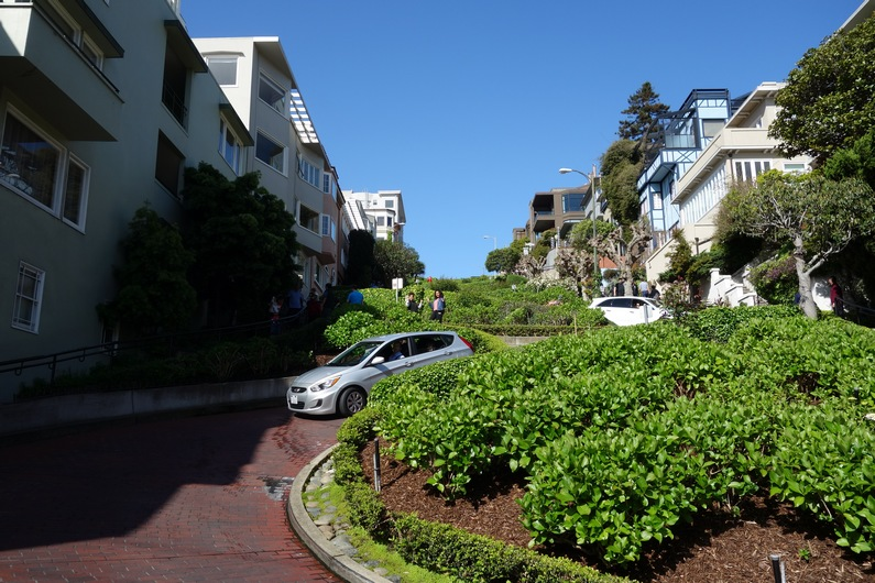 USA San Francisco Russian Hill – Lombard street