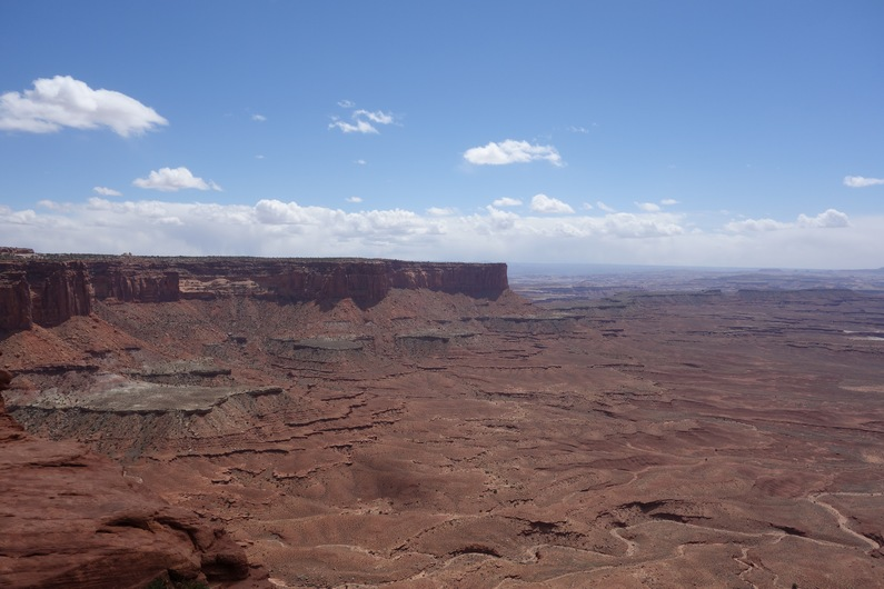 USA Canyonlands Green River Overlook